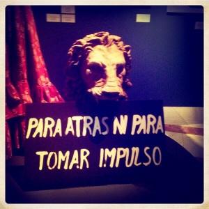 Decorado de Ay Carmela en muestra de los Goya en Sevilla